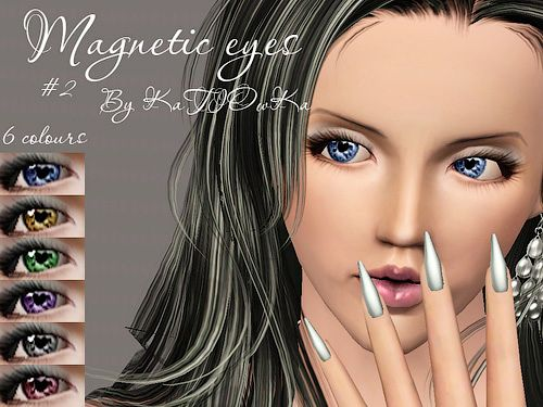 Sims 3 contact lenses, costume makeup, eyes, female