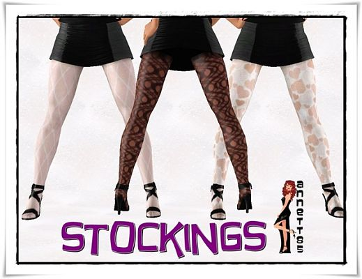 Sims 3 lace, stockings, accessories, sims3, sims 3