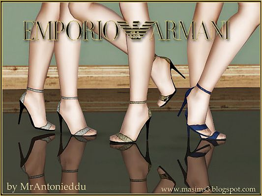 Sims 3 shoes, foowear, heels, designer, sandals
