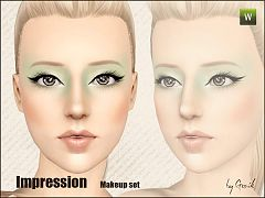 Sims 3 eye, eyeshadow, cosmetics, makeup, eyeliner, blush