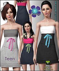Sims 3 fashion, teen clothing, clothes, sims
