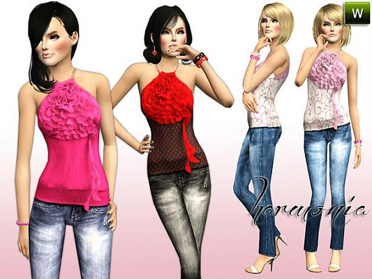 Sims 3 outfit, clothes, fashion