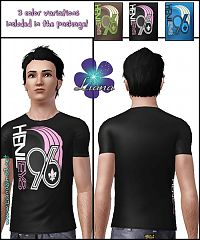 Sims 3 men, shirt, male, sims