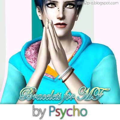 Sims 3 jewelry, bracelet, accessories, female, male