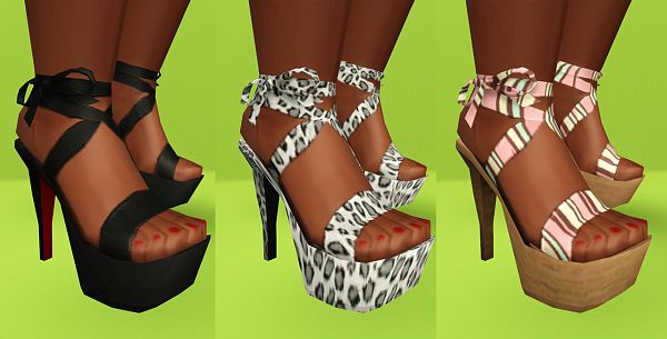 Sims 3 shoes, high heels,pumps, fashion, female