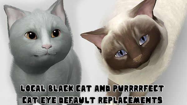 Sims 3 eye, genetics, cats, replacement