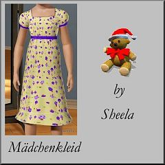 Sims 3 dress, cute, trendy, children