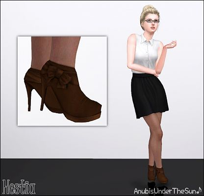 Sims 3 shoes, foowear, heels, boots