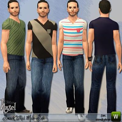 Sims 3 clothing, male, outfit