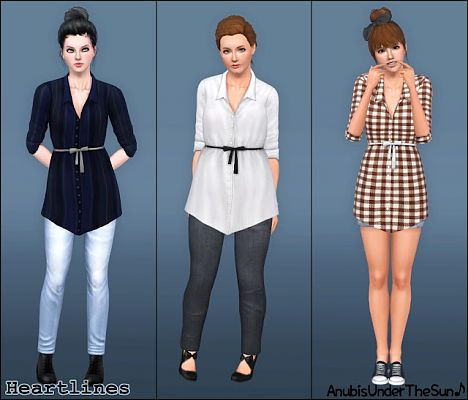 Sims 3 shirt, top, outfit, fashion, clothing, casual, female