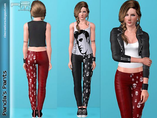 Sims 3 pants, outfit, fashion, clothing, casual, female
