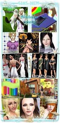 Sims 3 cloth, clothes, poses, items