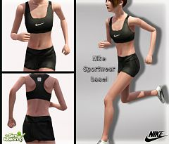 Sims 3 athletic, wear, outfit