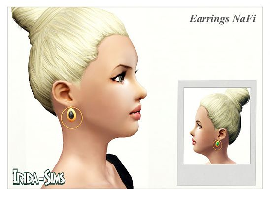 Sims 3 earrings, accessory, jewelry, sims3