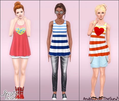Sims 3 top, fashion, clothes