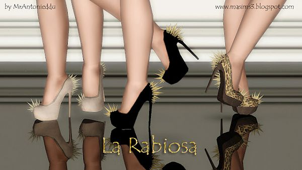Sims 3 pumps, heels, shoes