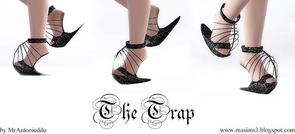 Sims 3 shoes, designer