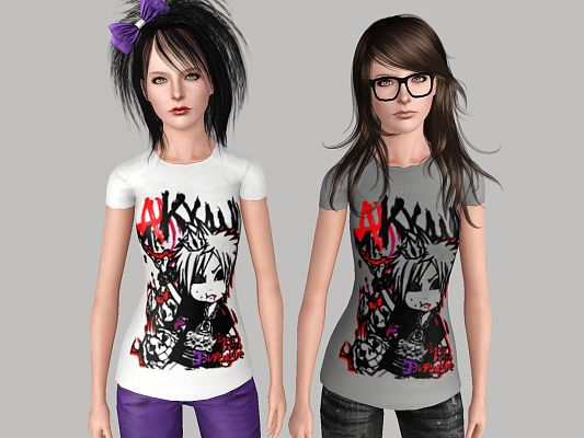 Sims 3 tee, shirts, clothes, males