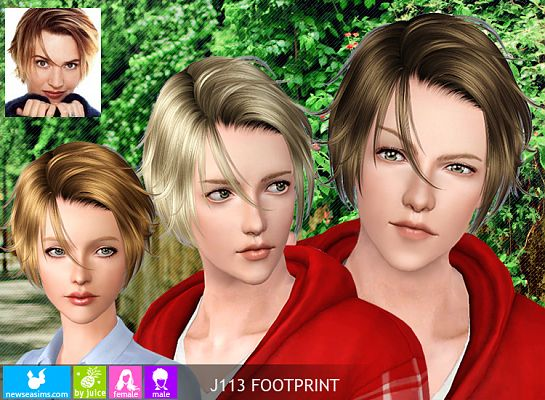 Sims 3 hair, hairstyle, sims3, female, male