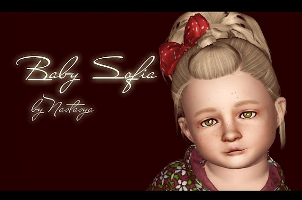 Sims 3 sim, sims, model, sims3, female, toddler, baby