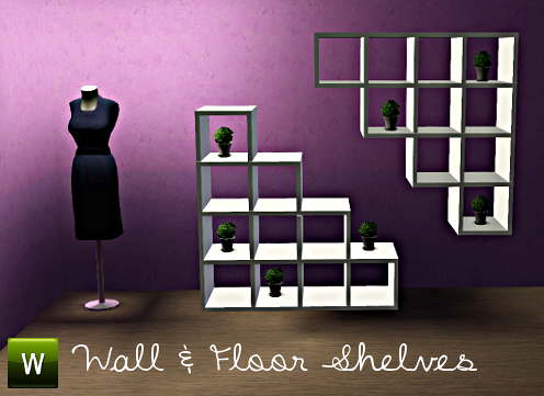 Sims 3 shelves, furniture, objects