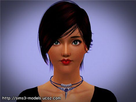 Sims 3 necklace, accesssory, jewelry