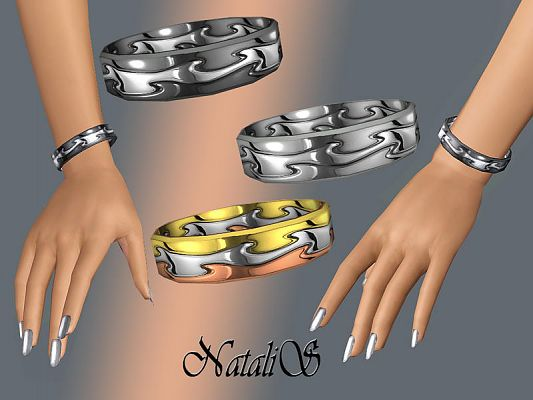 Sims 3 jewelry, bracelet, accessories, female