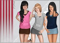 Sims 3 dress, cloth, clothing, fashion, sport, athletic