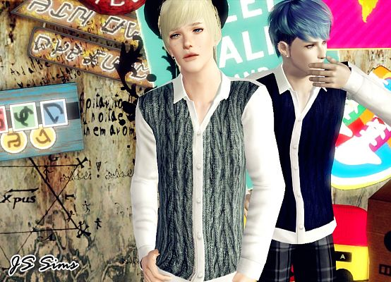 Sims 3 outfit, clothing, male