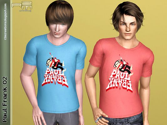 Sims 3 shirt, clothing, male, outfit