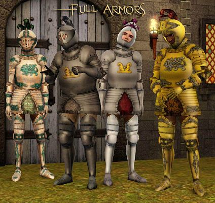 Sims 3 armor, clothing, male, outfit