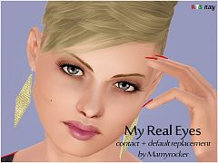 Sims 3 eye, contact, lenses
