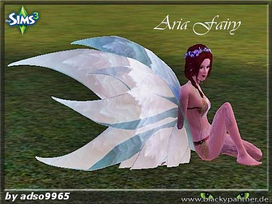 Sims 3 accessory, wings, fairy