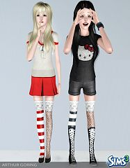 Sims 3 stockings, accessory