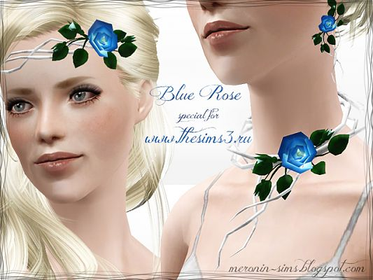 Sims 3 accessories, jewelries, rose