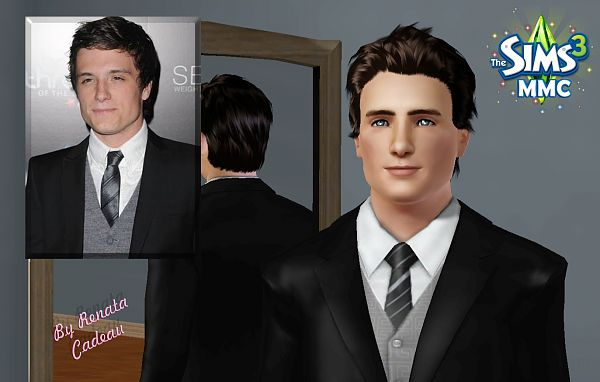 Sims 3 sim, sims, model, sims3, male, celebrity