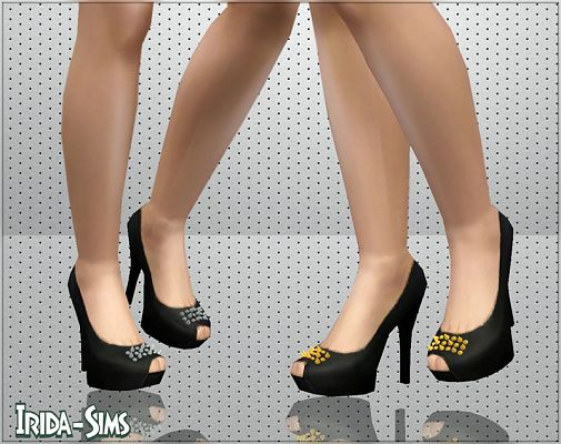 Sims 3 shoes, high heels, pumps, fashion, female