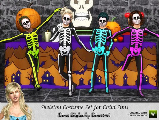 Sims 3 costume, clothing, child