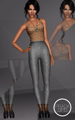 Sims 3 outfit, clothes, fashion, sims3
