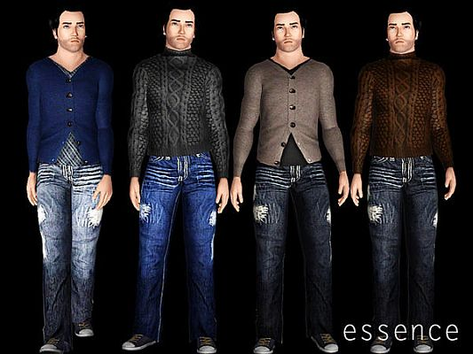 Sims 3 cloth, clothes, fashion, set