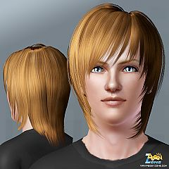 Sims 3 hair, female, male