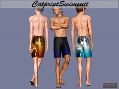 Sims 3 swim, clothing, male