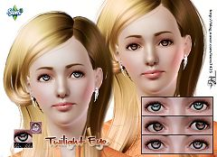 Sims 3 contacts, eyes