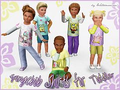 Sims 3 top, shirt, fashion, clothes, toddler