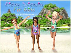 Sims 3 swim, swimwear, swimsuit