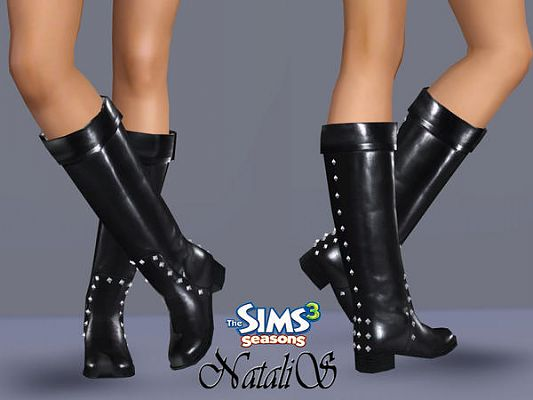 Sims 3 shoes, footwear, boots