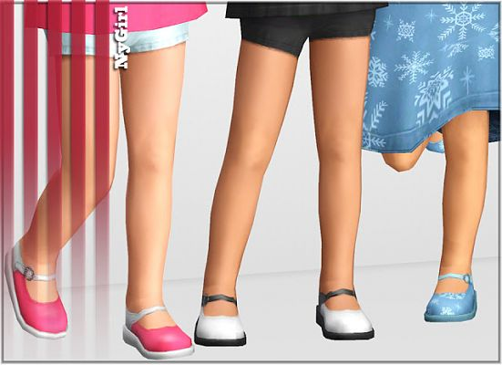 Sims 3 shoes, toodlers
