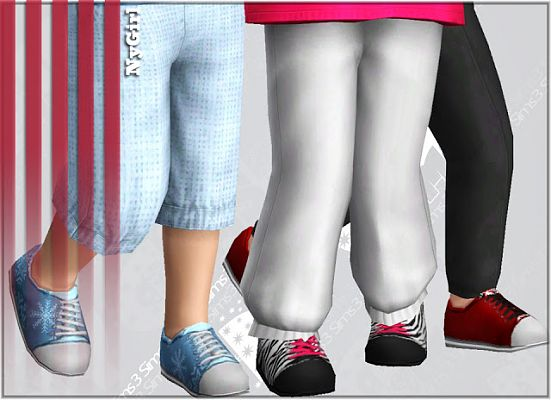 Sims 3 shoes, tennis, sneakers