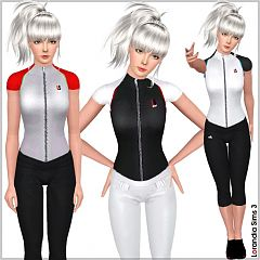 Sims 3 top, sport, athletic