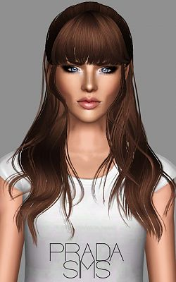 soccer hairstyles for girls : Sims 3 Updates - Prada Sims : 2 Newsea hairstyle updated by Justin 58